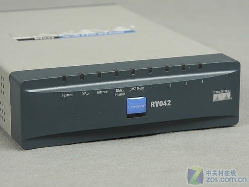 应用为先:思科RV042VPN路由器评测