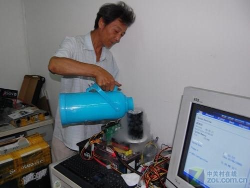 空调改CPU散热器60岁老玩家的疯狂DIY
