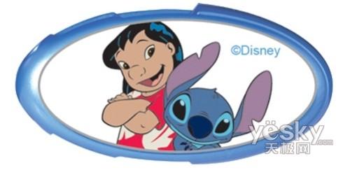 回童年 迪士尼卡通形象移动存储赏析