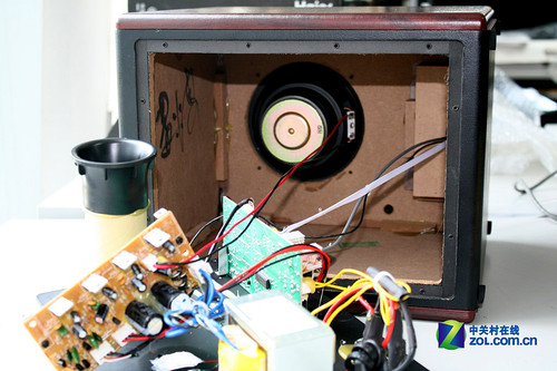 顶级音箱内部结构图片