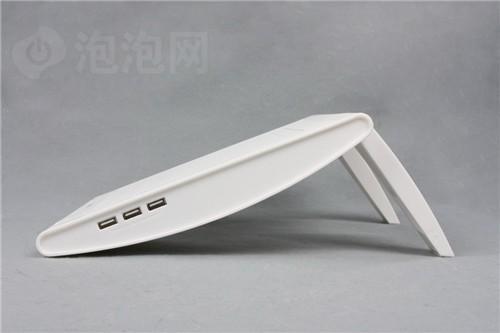 贴心设计九州风神玉风轮笔记本散热器