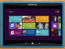 诺基亚Windows 8概念平板