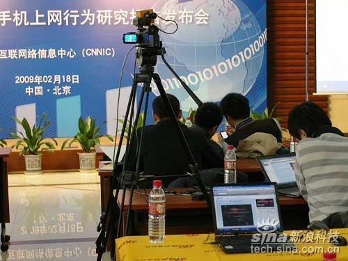 科技时代_图文:新浪科技独家直播手机上网行为报告会