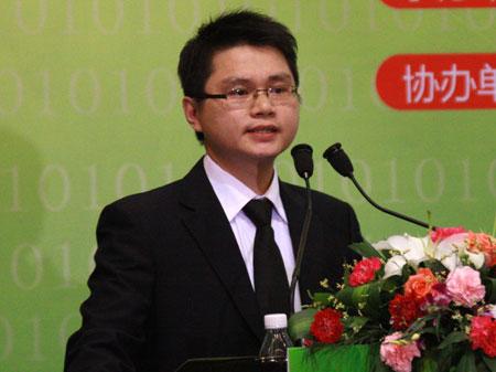 科技时代_图文:动易网络总经理李靖致辞