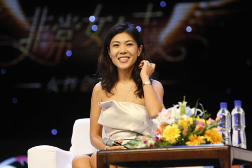 科技时代_图文:时尚杂志主编苏芒在论坛现场发言