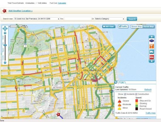 科技时代_美国地图服务评测:谷歌最好必应次之