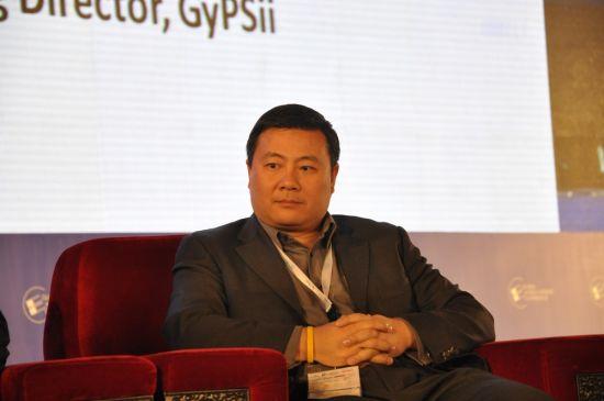 LBS论坛GyPSii创办人兼总经理Jeff Lin发言