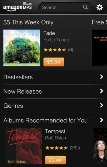 亚马逊旗下MP3音乐商店周四针对iPhone和iPod touch进行了优化