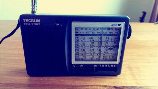 老式电台的传播