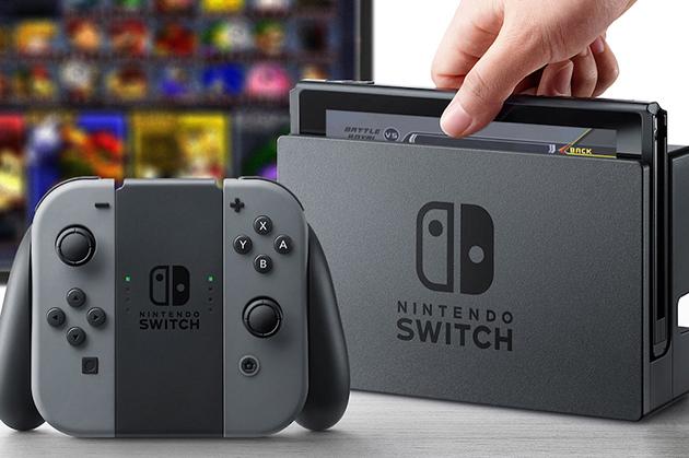 任天堂新一代游戏主机SWITCH发布