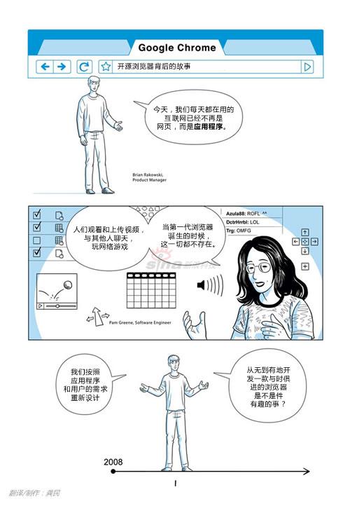 独家:GoogleChrome漫画书中文版