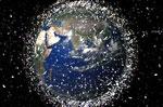 百万太空垃圾包围地球