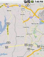 内置Google Maps功能