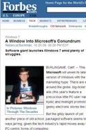 微软危机四伏中迎候Win7