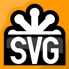 支持SVG矢量图像