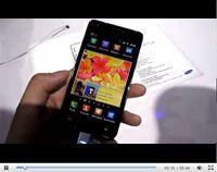 双核智能三星 Galaxy S II现场视频简评