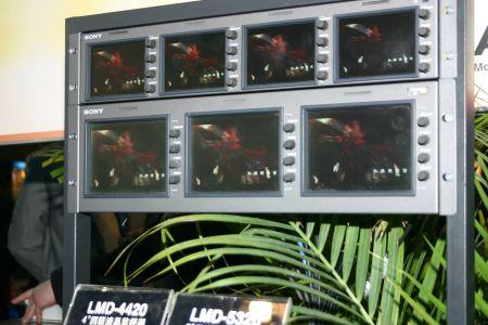 4英寸四联液晶监视器