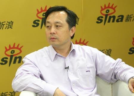 科技时代_明基中国总经理曾文祺作客新浪解密业务整合