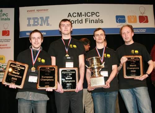 科技时代_俄罗斯大学获国际大学生程序大赛冠军 清华第六