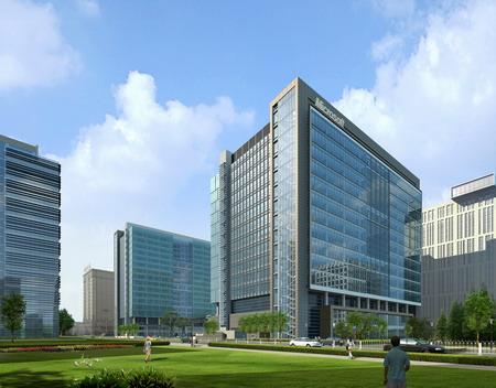 科技时代_微软中国20亿元在京建研发大楼吸引人才(图)