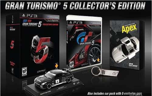 科技时代_《GT赛车5》豪华版公布将内附GT-R模型