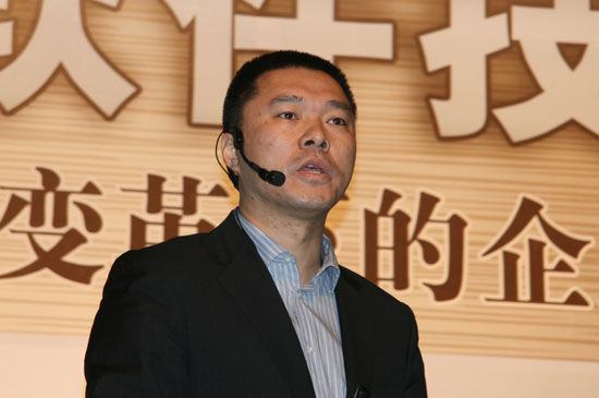 微软大中华区副总裁谢恩伟