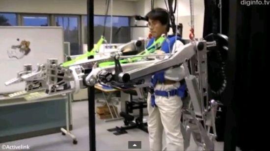 松下开发的这款机器护甲名为Power Loader