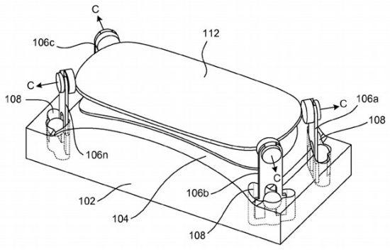 苹果一项最新专利显示,iPhone未来可能会采用带弧度的屏幕