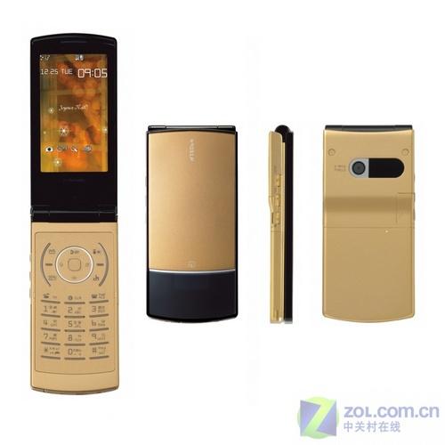 3寸TFT屏幕 NEC超薄翻盖机N905iμ亮相