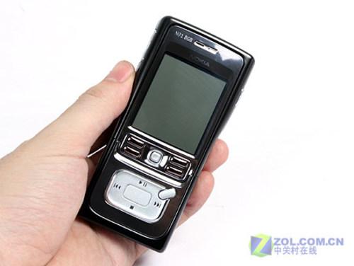 纯黑音乐强机8GB版诺基亚N91现售3280