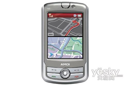 夏新中高端市场凸显成效N6引领GPS手机