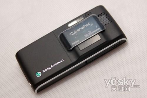 自动补光拍摄索爱照相手机K800i售1499