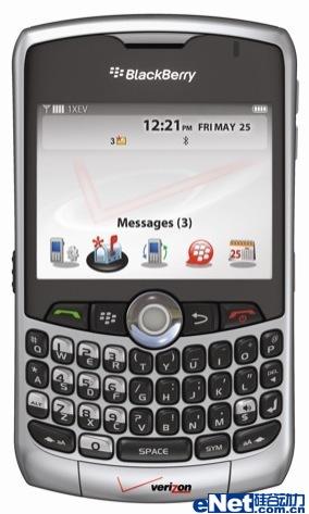 地图功能黑莓Curve8330将于5月上市