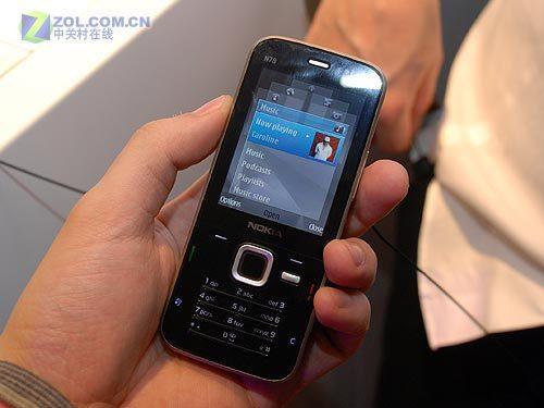 320万像素诺基亚GPS智能手机N78开卖
