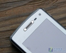 透明键盘设计LG滑盖拍照GD900售2800