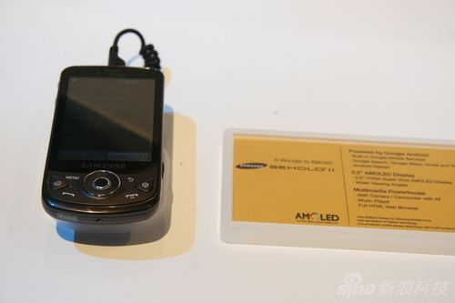 科技时代_CES2010国际消费电子展:三星Behold II手机