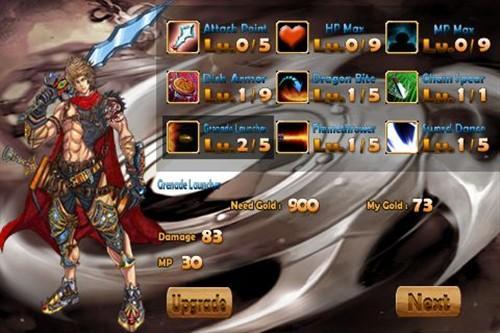 iPhone免费动作游戏精品刀锋英雄复仇
