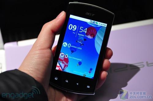 PC巨头再发力Acer三款Android手机曝光