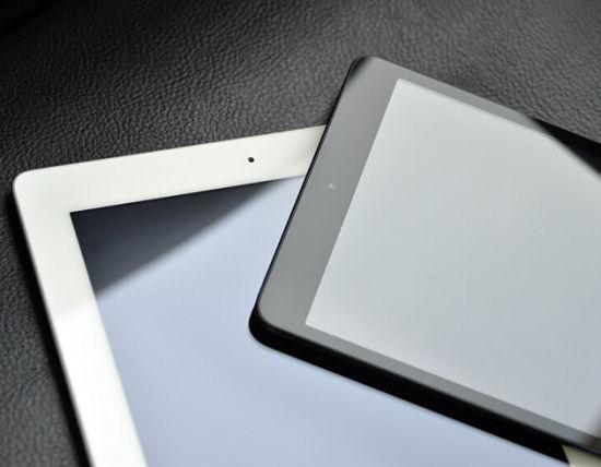 行货版iPad mini及iPad 4对比