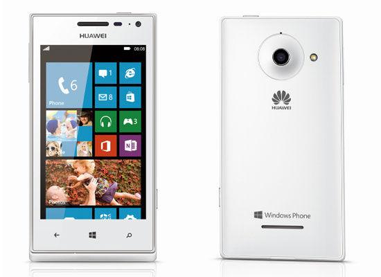 华为发布旗下首款Windows Phone 8手机W1