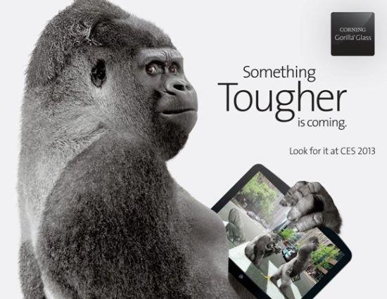 康宁展出第三代大猩猩玻璃