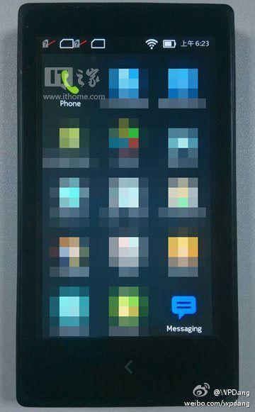 此前曝光的诺基亚安卓手机图片