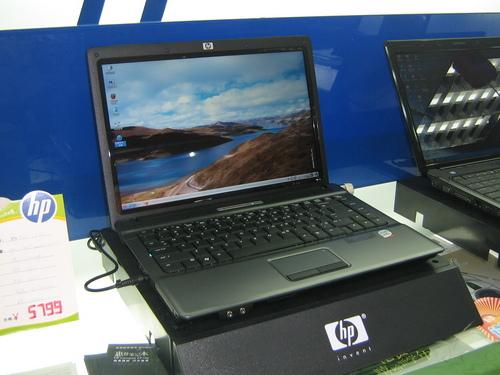 惠普酷睿2双核160G硬盘入门本3999元