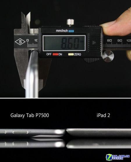 iPad2真正对手三星P7500超薄平板评测