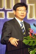 电子时报社长黄钦勇演讲