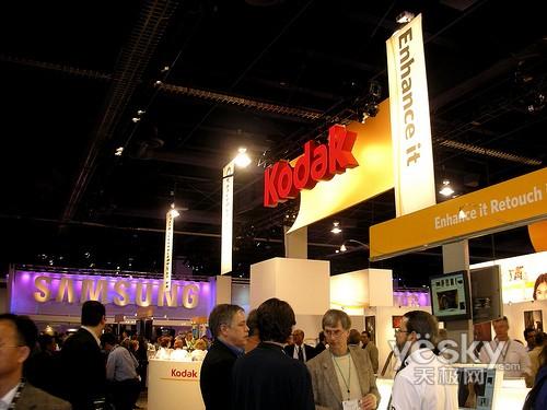 科技时代_PMA2008:柯达展台