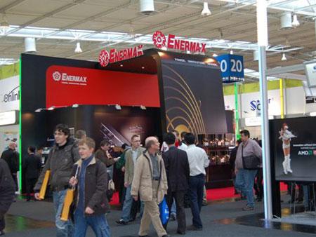 科技时代_CeBIT 2008:Enermax展台