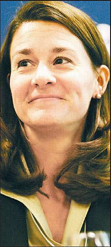比尔・盖茨之妻梅林达:和电脑的罗曼史