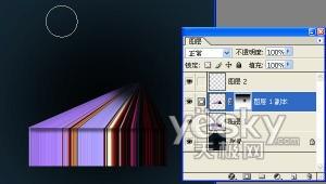 Photoshop基础教程:普通图像打造三维效果(2)