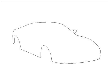 photoshop中绘制法拉利跑车教程